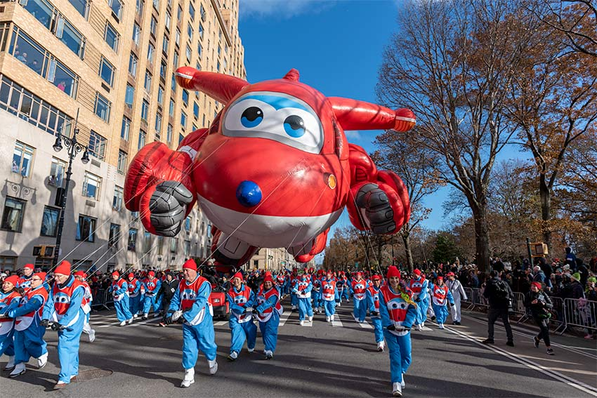 Jett Balloon at the 2019 Macy's Thanksgiving Day Parade