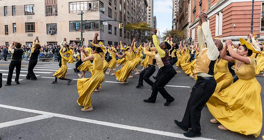 Alvin Ailey Dance Group at the 2019 Macy's Thanksgiving Day Parade