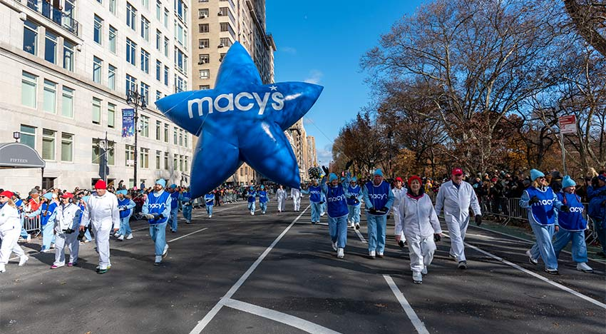 One of the stars of the show at the 2019 Macy's Thanksgiving Day Parade