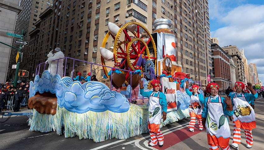 Float at the 2019 Macy's Thanksgiving Day Parade